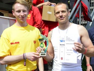 24-Stunden-Schwimmen: Guido Böse war der überragende Akteur