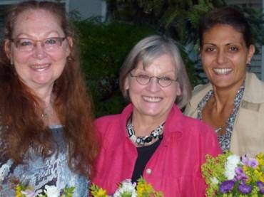 Helga Hübner und Jennifer Petroll Sprecherinnen in der AG Schwerte Frauengruppen