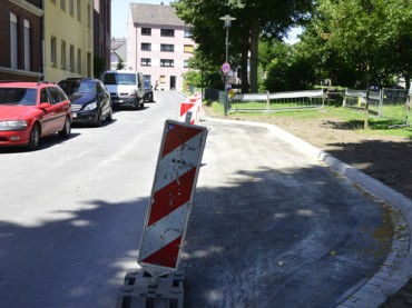 Jetzt hat die Ruhrstraße eine eigene Bucht