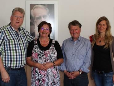 """Landtagsabgeordneter zum """"Antrittsbesuch"""" bei der SPD-Fraktion Schwerte"""