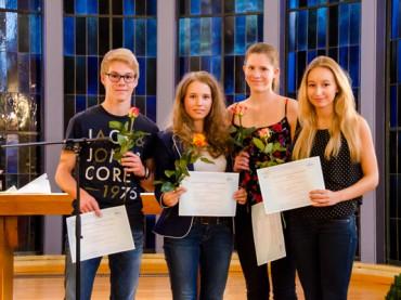 FBG: Schule ehrt Schüler für Engagement und besondere Leistungen