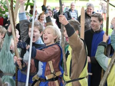 20 Jahre Historisches Spiel: Sigurd und Griemhilde kommen nach Argeste