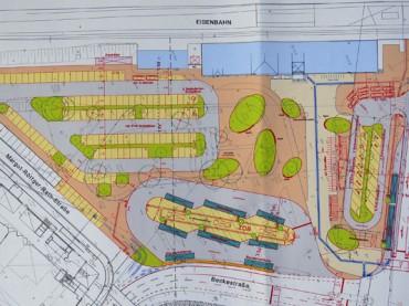 Bahnhofsvorplatz soll schon ab 2015 umgestaltet werden