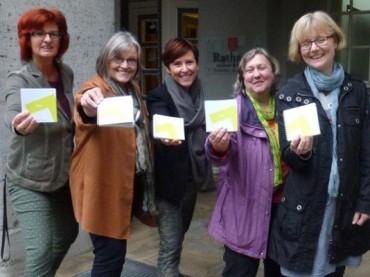 WIR-Unternehmerinnen und das frauenpolitische Netzwerk tagten im Rathaus