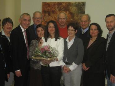 Integrationsrat: Bürgermeister verabschiedet langjährige Vorsitzende Aynur Akdeniz
