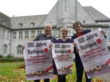 """Am 9. November: """"Tag der offenen Tür"""" im Rathaus –  Offizielle Eröffnung nach 100 Jahren"""