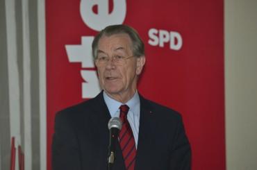 SPD feiert 125-jährigen Geburtstag mit Jubilaren und Franz Müntefering