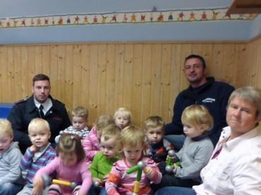 Ergster Feuerwehr unterstützt die Jüngsten