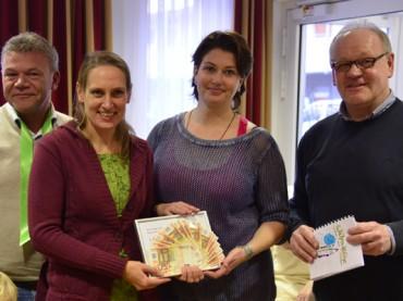 Haus am Stadtpark spendet erneut 1000 Euro für das Kinderhospiz des Kreises Unna