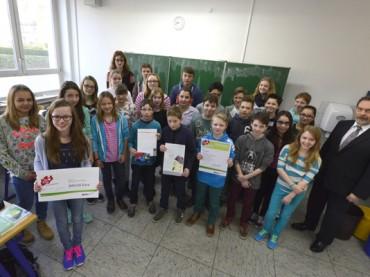 Querdenker: Klasse 7b gewinnt 500 Euro im NRW-Wettbewerb