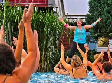 Zumba und Jogging im Wasser: Kurse im Elsebad beginnen