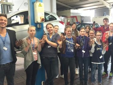 Girls'Day im Autohaus Pflug