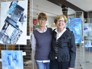 Im Ruhrtalmuseum: Abstrakte Malerei mit Raum für Interpretationen