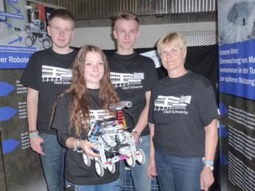 """Roboter-Olympiade: """"Dacil Schwerte"""" mit weitem Abstand auf Platz 1"""