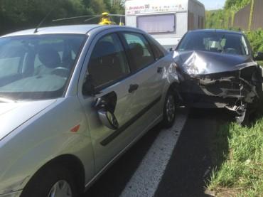 Autobahn nach Unfall kurzfristig gesperrt