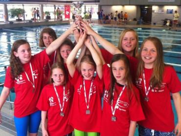 Zweiter Platz im Land: FBG-Schwimmerinnen verpassen Bundesfinale knapp