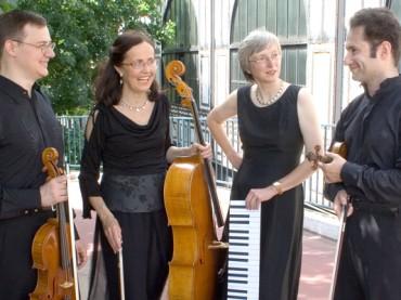 Sommerkonzerte beginnen mit dem Accento Klavierquartett