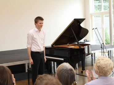 Sommerkonzert: Junger Pianist überzeugte