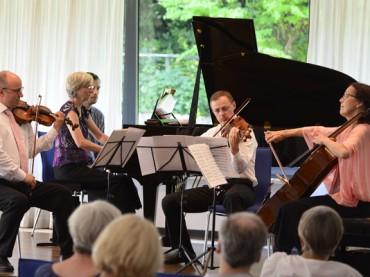 Accento Klavierquartett: Gelungener Start in die Schwerter Sommerkonzerte