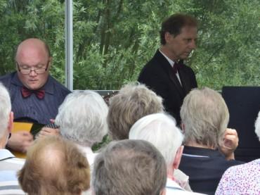 Prof. Andrei Gorbatschow und Lothar Freund: ein perfektes Vergnügen
