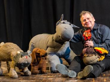 Puppentheater Lille Kartoffler zieht um in die Aula der Realschule am Bohlgarten