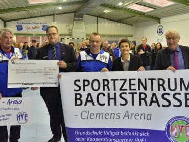 """""""Clemens-Arena"""" neuer Mittelpunkt im Vereinsleben des TuS Westfalia Villigst"""