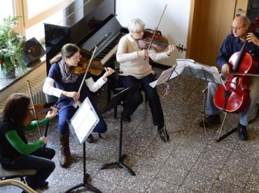 Musikschule und eine außergewöhnliche Adventsfeier im Treppenhaus