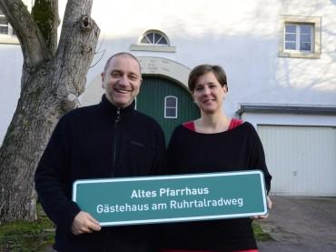 Altes Pfarrhaus in Ergste: Aus der ehemaligen Radlerherberge wird das Gästehaus am Ruhrtalradweg