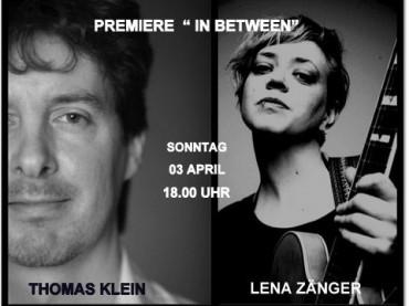 """""""In Between"""": Thomas Klein und Lena Zänger im JAVANA"""