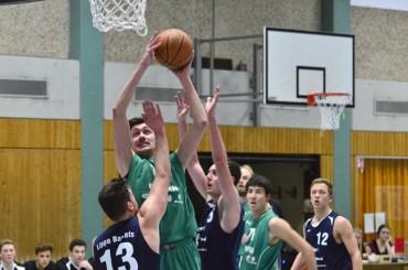 Basketballer stehen vor dem Showdown: In einer Woche geht's um den Aufstieg