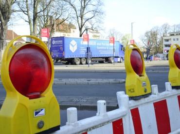 Busbahnhof ist abgesperrt – Ersatzhaltestellen in der Bahnhofstraße