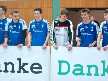 Abenteuer Bundesliga ist beendet: Starke Jungs sagten Danke