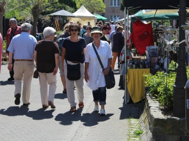 Kunst open air in der Altstadt und mehr
