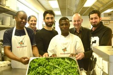 Beispielhaftes Flüchtlingsprojekt: In der Rohrmeisterei gelingt Integration