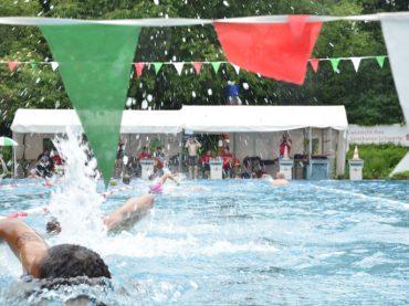 24-Stunden-Schwimmen: Das Rennen um die längste Strecke hat begonnen
