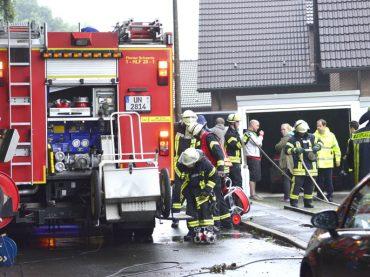 Waschmaschine brannte im Keller: Feuerwehr hatte alles schnell im Griff