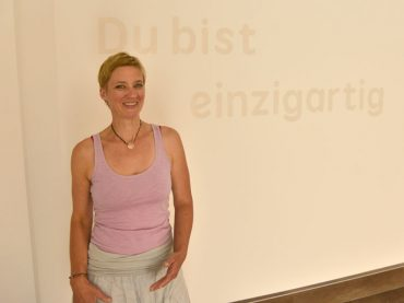 """Ich freue mich"": Christina Riße eröffnet am Samstag ""einzigartig. Yoga"""