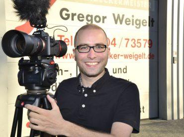 …und Action: Jens Jacob mit seinen Imagefilmen am Puls der Zeit