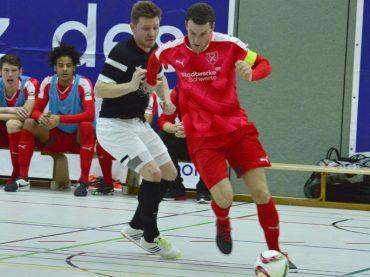 Holzpfosten have a run: Es läuft bestens für die Futsaler