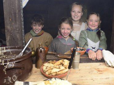 Das Mittelalter zu Gast im Freibad