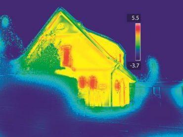 Thermografie und Energieberatung fürs Eigenheim: Wärmebilder helfen bei der Diagnose
