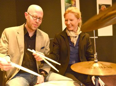 Äußerst taktvoll: Marco Dafov ist der neue Leiter der Musikschule im KuWeBe