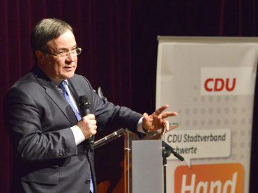 Zu Gast bei der Schwerter CDU: Armin Laschet ist vom Regierungswechsel überzeugt
