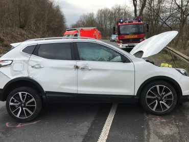 Fünf Verletzte bei zwei Unfällen auf der A45 und der Iserlohner Straße