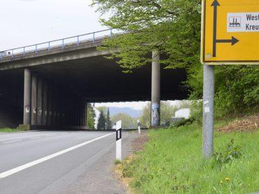 A1/A45: Neue Brückenbaustelle im Kreuz Westhofen