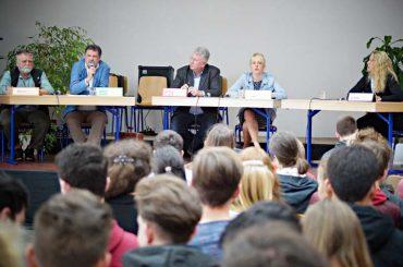Schüler fragen, Politiker antworten: Landtagskandidaten diskutierten am FBG