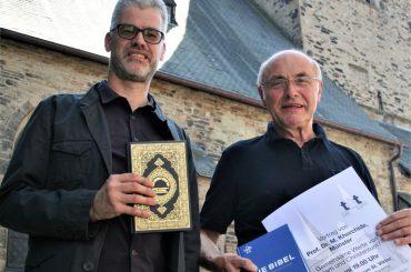"""Gemeinsame Werte von Islam und Christentum:  """"Talk am Turm"""" mit Mouhanad Khorchide"""