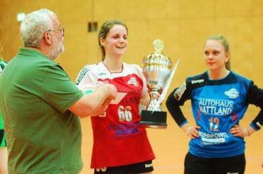 HSG-Damen gewinnen den Pokal und verlieren Jana Ullrich