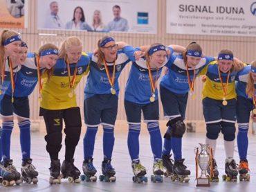 Leonie Hochstein ist Deutsche Rollhockeymeisterin