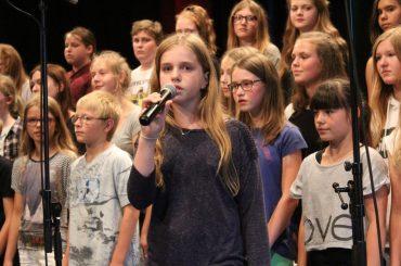 3. Schulchorfestival: Bunter Musikcocktail begeisterte